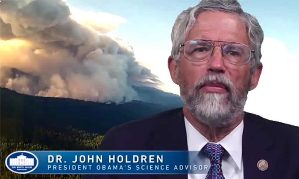 White House Senior Science Advisor: Wildfires Are Linked to Climate Change