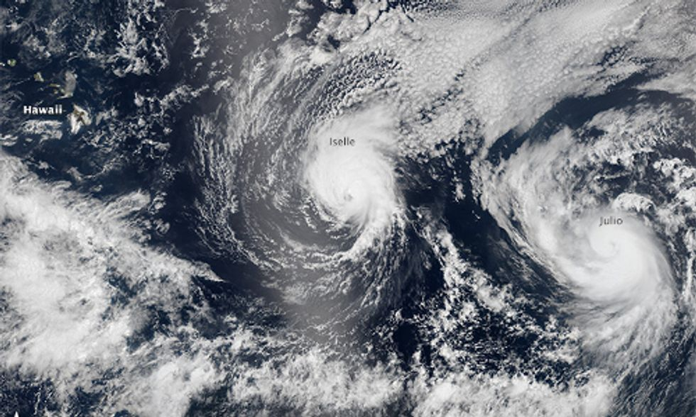 Hawaii Hurricanes, El Niño and Climate Change