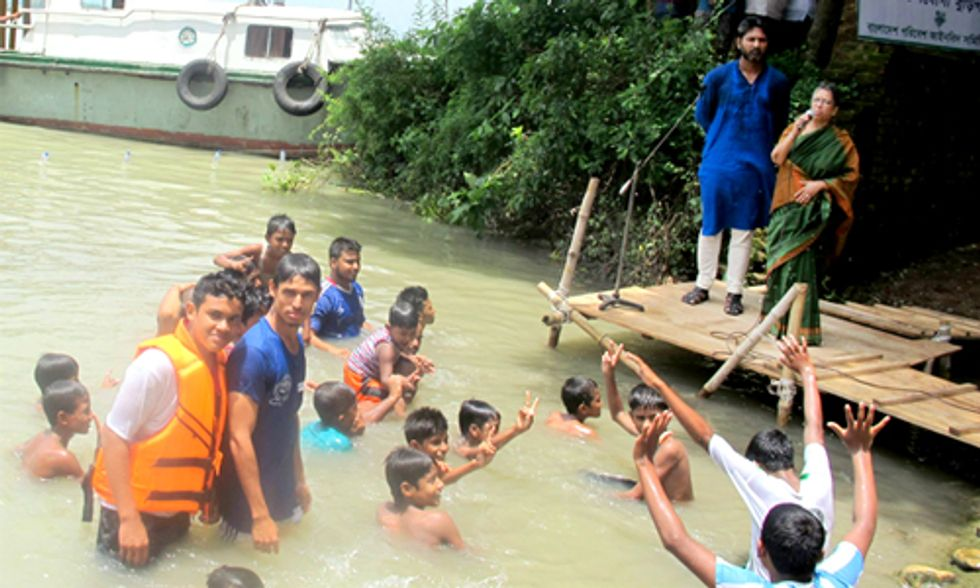 Creating a Swimmable Buriganga River in Bangladesh