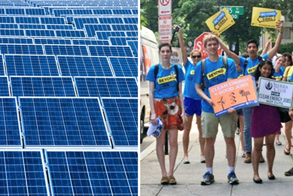 Students Demand Clean Energy