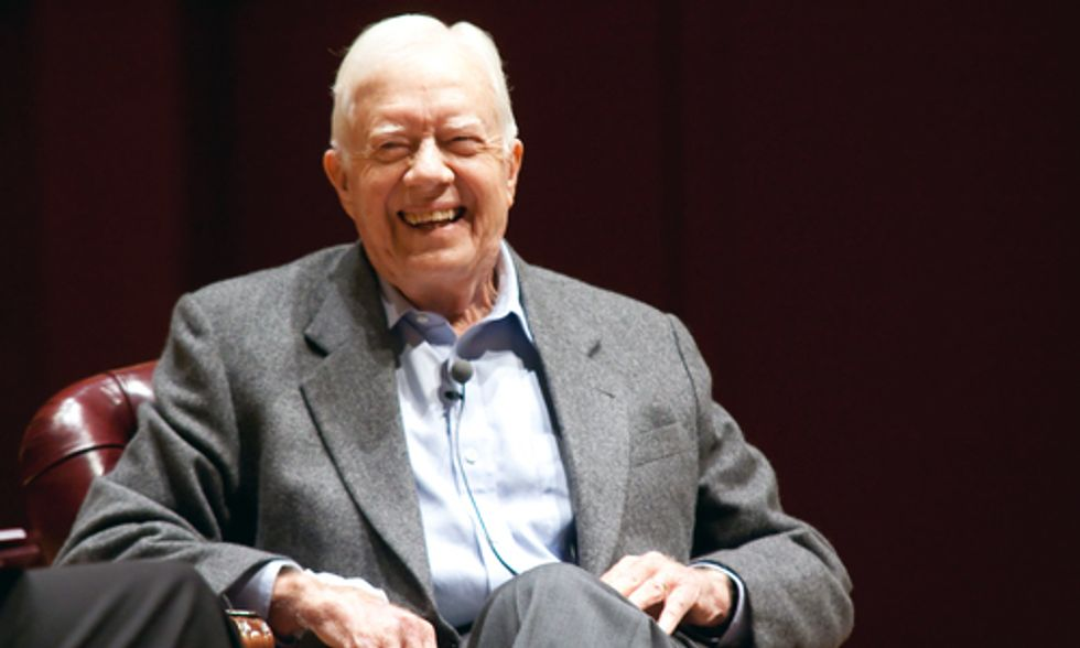 Jimmy Carter Blasts 'Nutcases' Who Block Climate Action