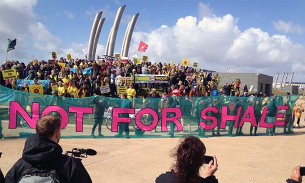 UK Fracking Activists 'Reclaim the Power'