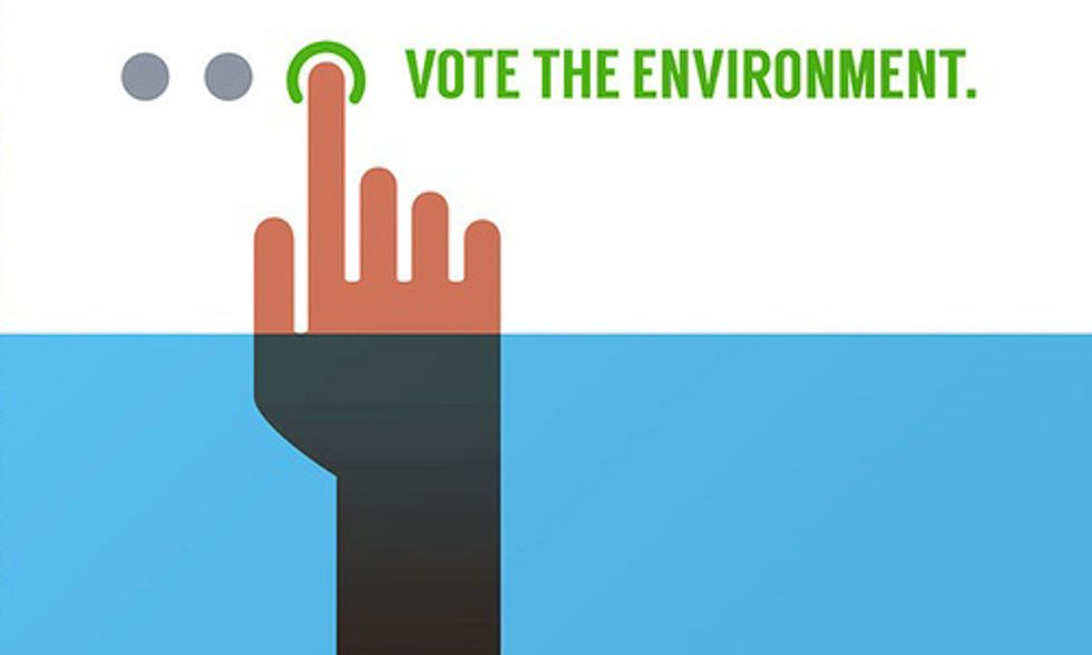 Crowdsourced Art Campaign Inspires People to 'Vote the Environment'