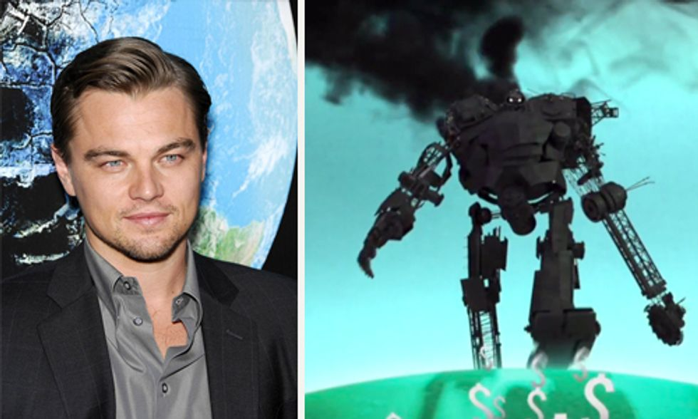 Leonardo DiCaprio Narrates Climate Change Films Urging Shift From Fossil Fuels to Renewables