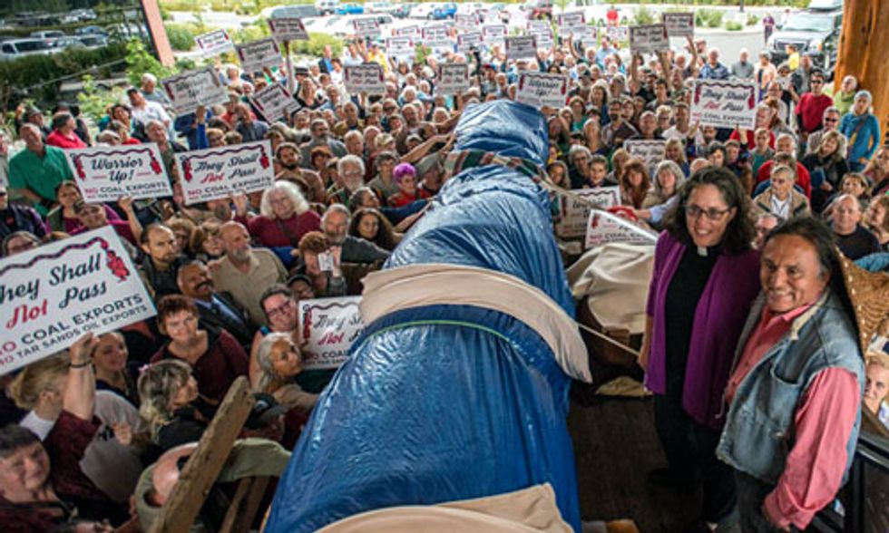 Hundreds Gather to Oppose North America's Largest Coal Terminal