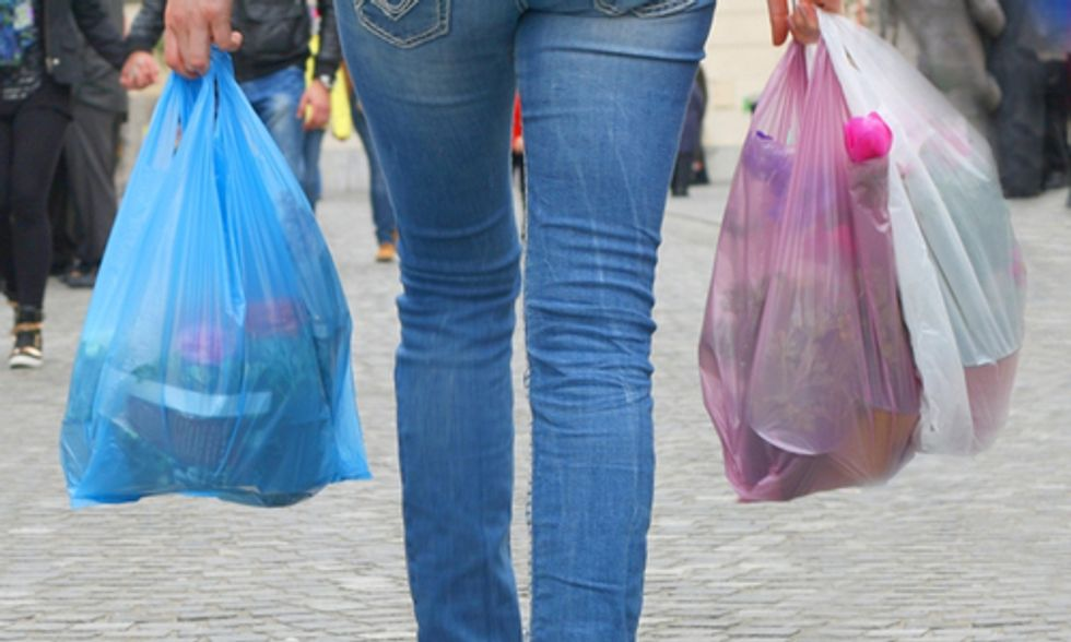 California Bans Plastic Bags