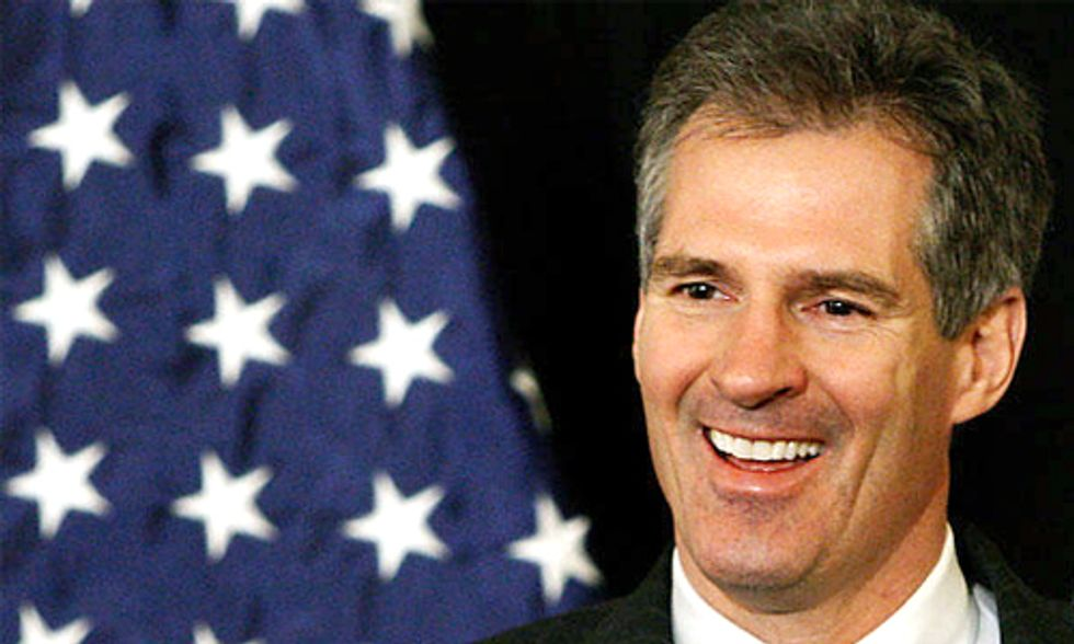 U.S. Senate Candidate Scott Brown Flip Flops on Climate Change