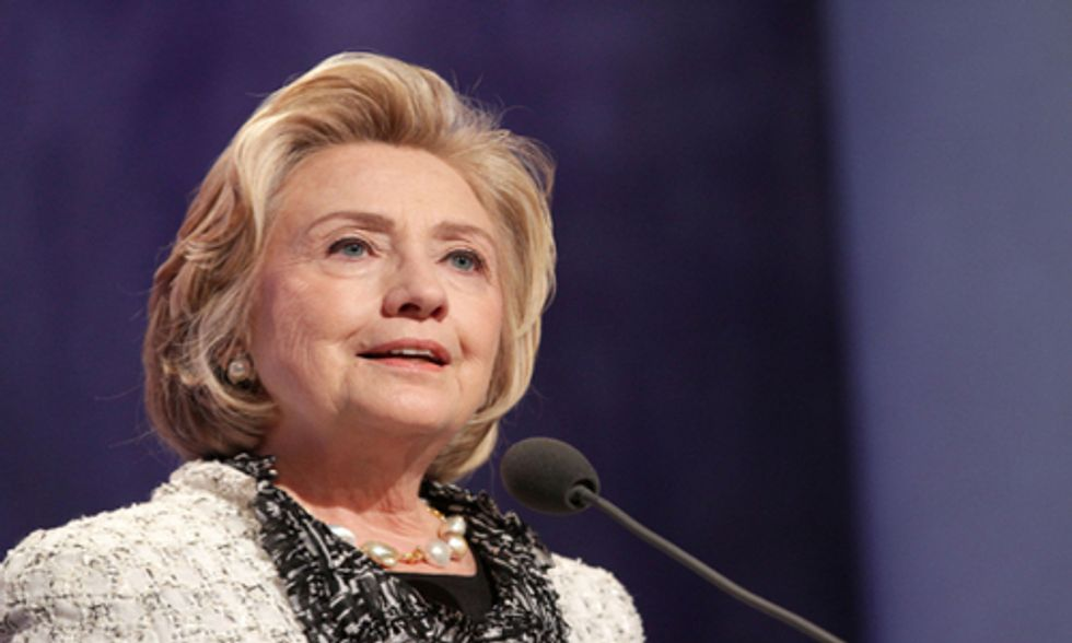 Hillary Clinton Calls Out Climate Deniers at Clean Energy Summit