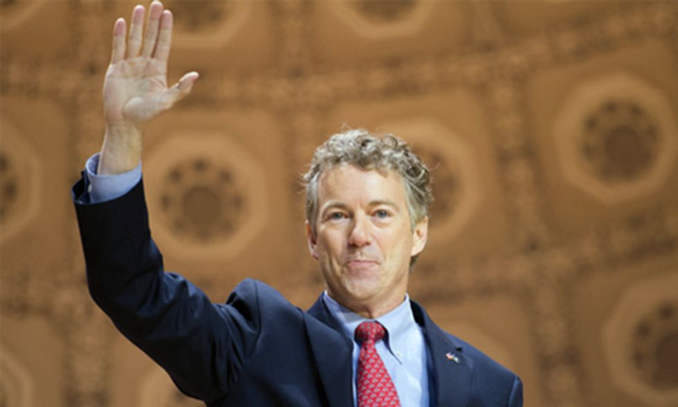 Rand Paul Says Hillary Clinton's Focus on Climate Change Shows She Lacks 'Wisdom' to Be President