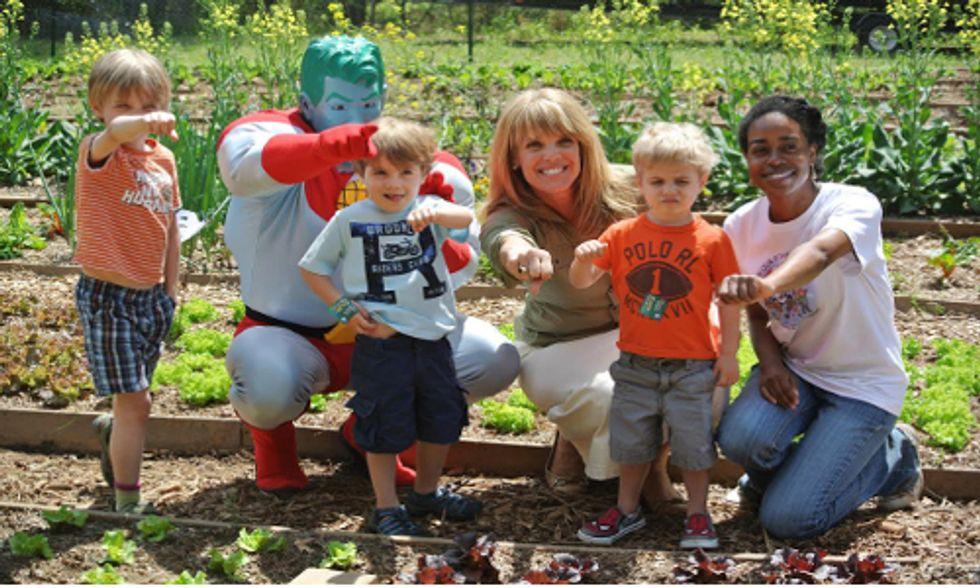 School Garden Program Teaches Kids to Eat and Grow Healthy Food