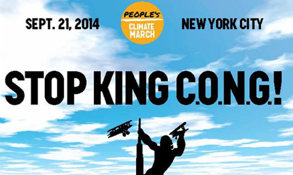 Let's Bury King C.O.N.G. at People's Climate March