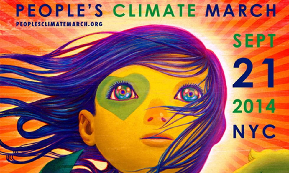 People's Climate March = Marching for the Future