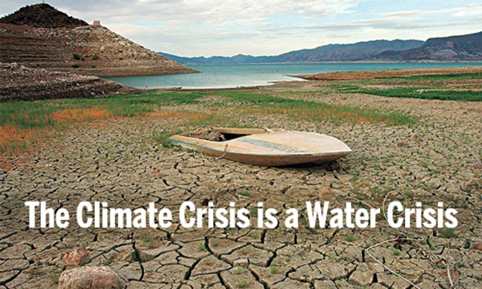 The Climate Crisis is a Water Crisis