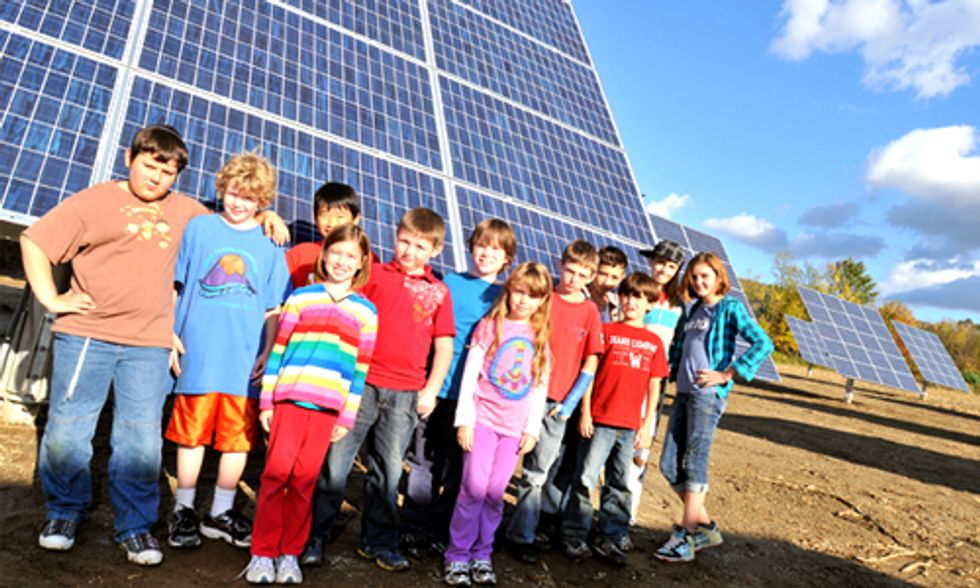 U.S. Schools Go Solar