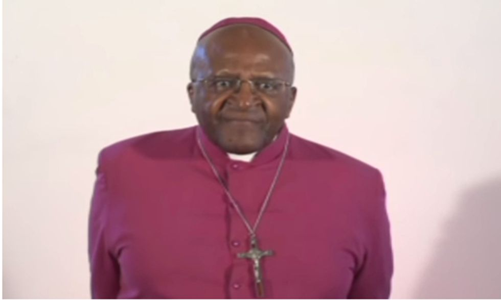 Desmond Tutu: It's Time to 'Move Beyond the Fossil Fuel Era'