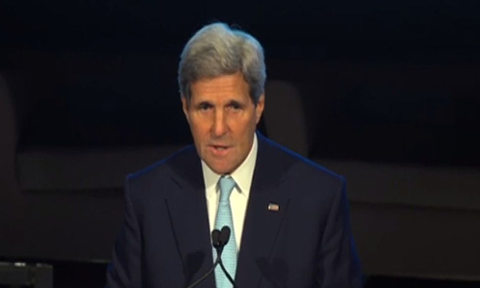 John Kerry: Climate Change Most Serious Threat We Face on the Planet