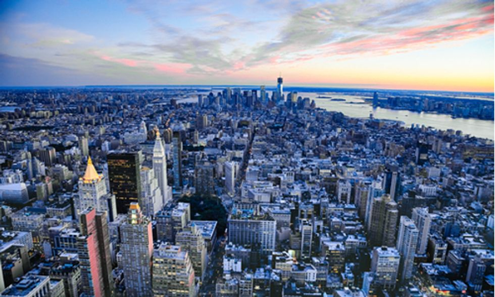 New York City Mayor de Blasio Takes On Climate Change