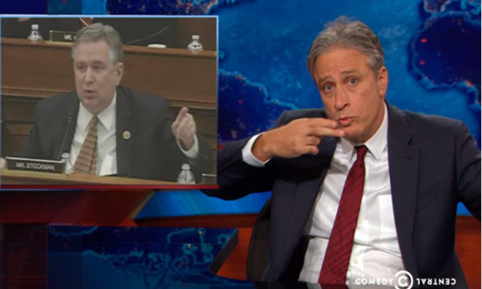 Must-See Video: Jon Stewart Tackles Climate Deniers in Congress