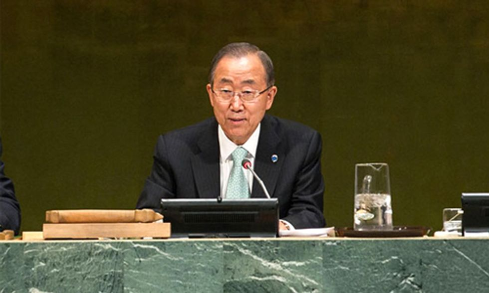 'All Hands on Deck' Declares Ban Ki-moon at UN Climate Summit