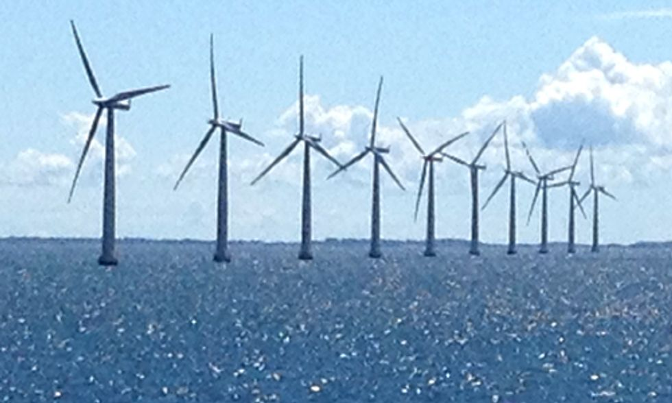 Students Study Renewable Energy on Denmark's Island of Samso