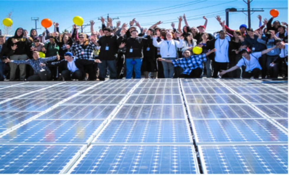 Locally Owned Renewable Energy Benefits Community and Economy