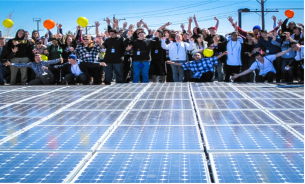 Locally Owned Renewable Energy Benefits Community and Economy