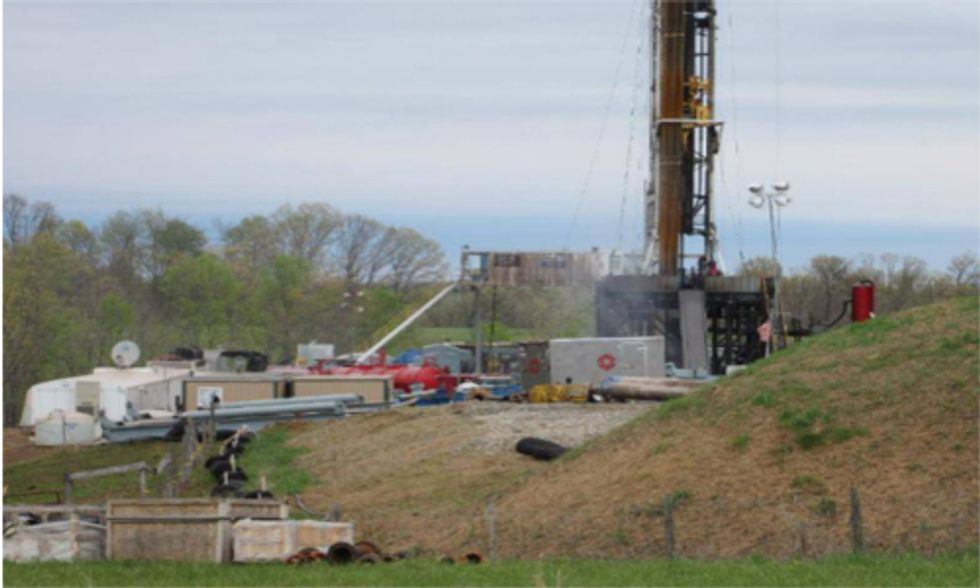 Ohio Singled Out for Worst Fracking Waste Disposal Practices