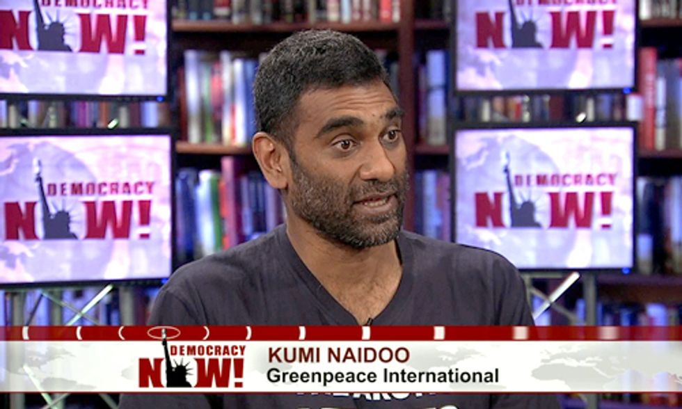 Kumi Naidoo: The Global Climate Uprising