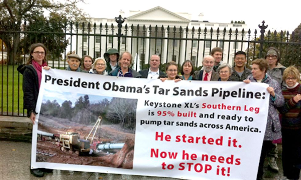 Urgent Request to Stop Southern Leg of Keystone XL Pipeline Ignored by White House
