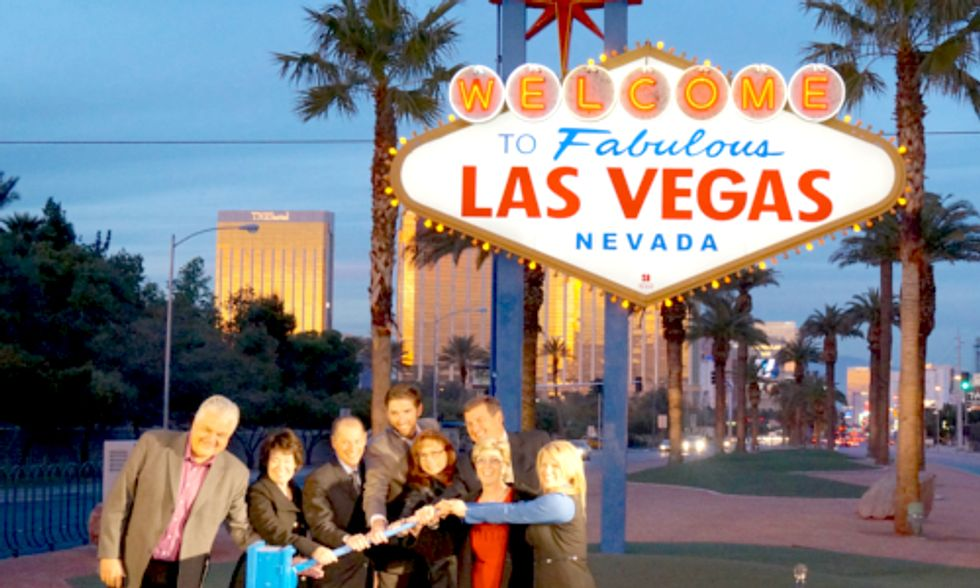 Iconic 'Welcome to Fabulous Las Vegas' Sign Now Powered by Solar