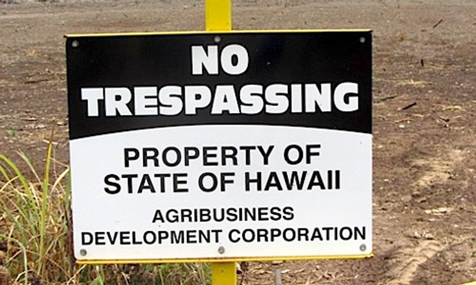Big Biotech Sues Little Island Over GMO Law