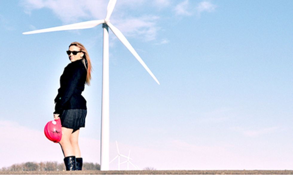 Woman Breaks Barriers to Achieve Dream of Working in Wind Energy