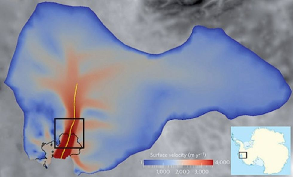 Major Antarctic Glacier Melting Irreversibly, Reaching Tipping Point