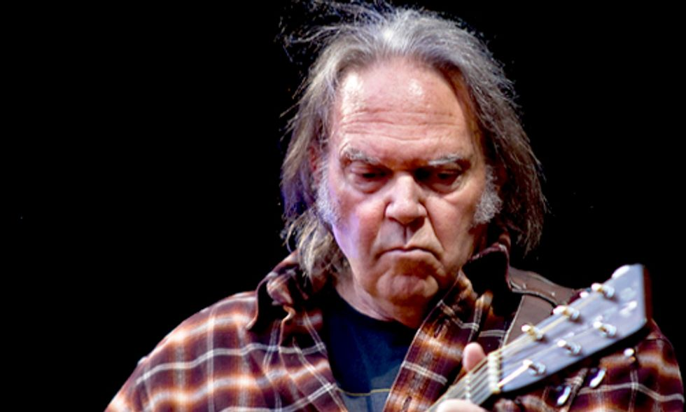 Neil Young Stands With First Nations on Anti-Tar Sands Tour