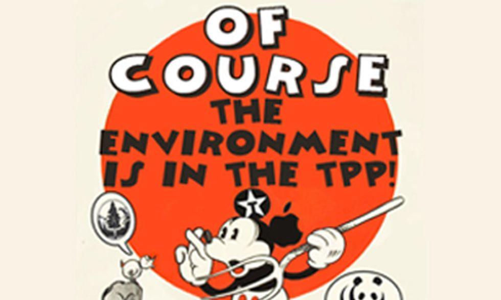 WikiLeaks Exposes Obama Administration's Weakening of Environmental Policies in TPP