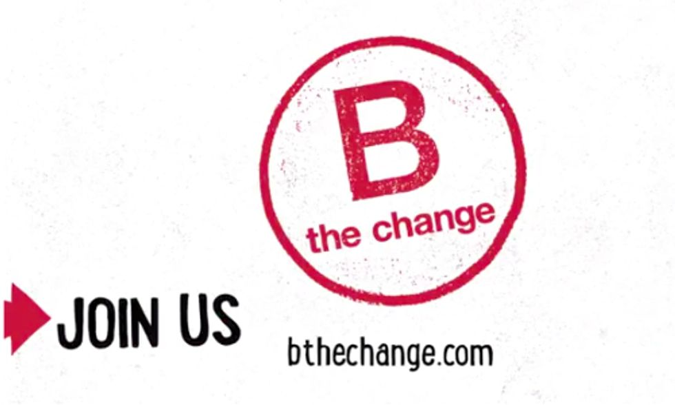 Nearly 1,000 Sustainable Corporations Encourage You to 'B the Change'