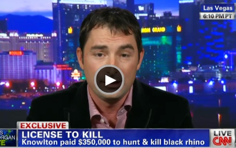 Man Pays $350K to Kill a Rhino