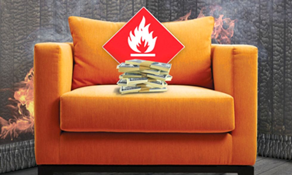 Chemical Company Sues California Over New Flame Retardant Law