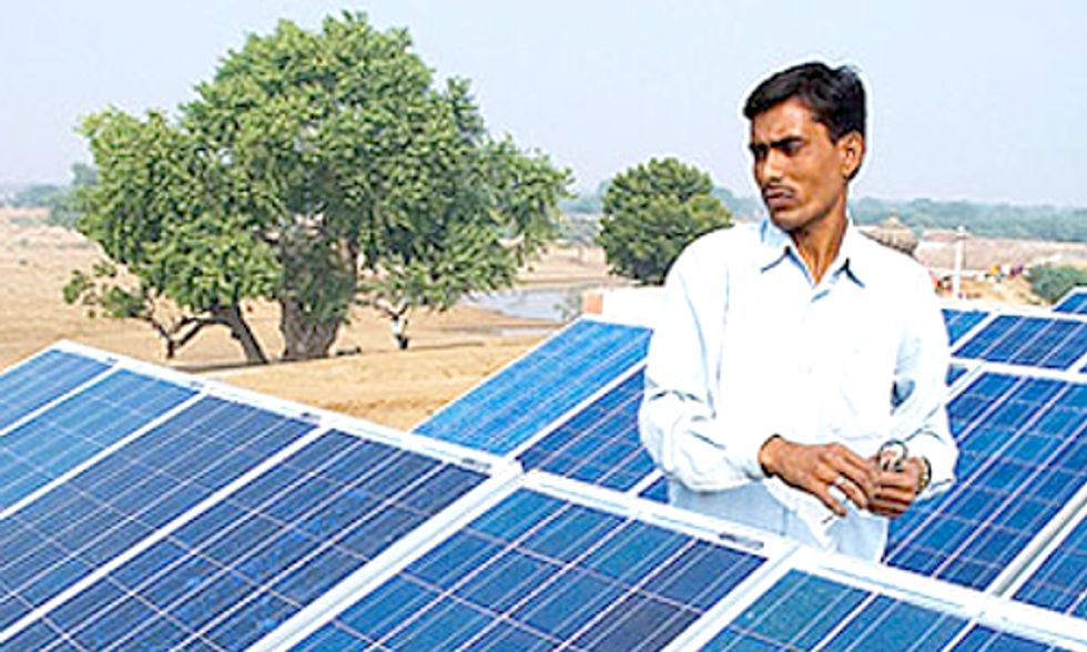 India Surpasses 2013 Solar Energy Goal, Adds 1 Gigawatt to Grid