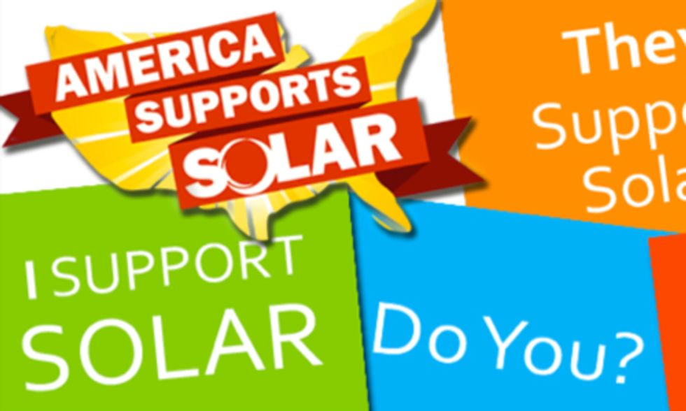 National 'Shout Out For Solar' Day Gaining Momentum