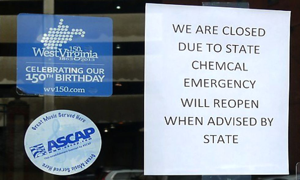 12 Days After West Virginia Chemical Spill, Company Admits to Second Chemical