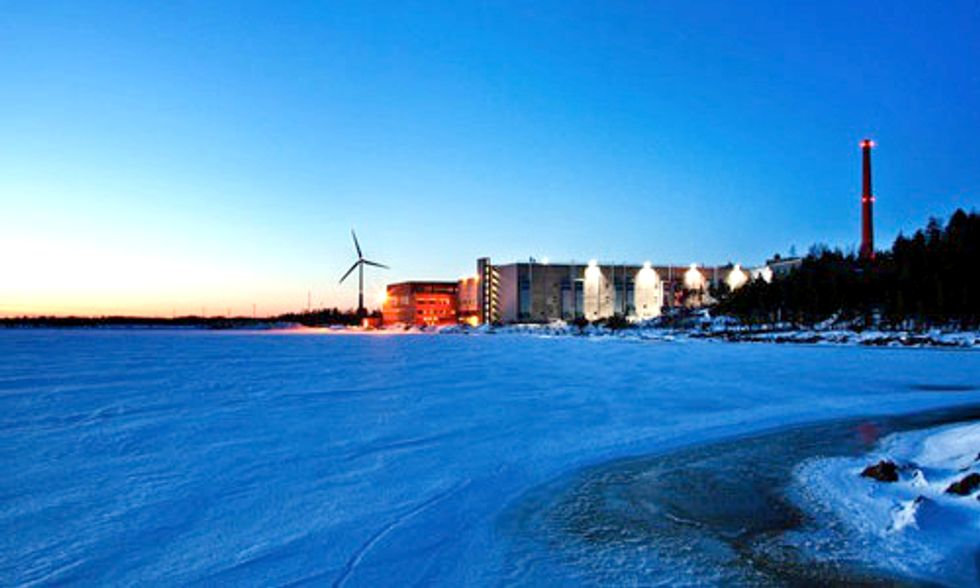 Google to Power Entire Data Center With Wind