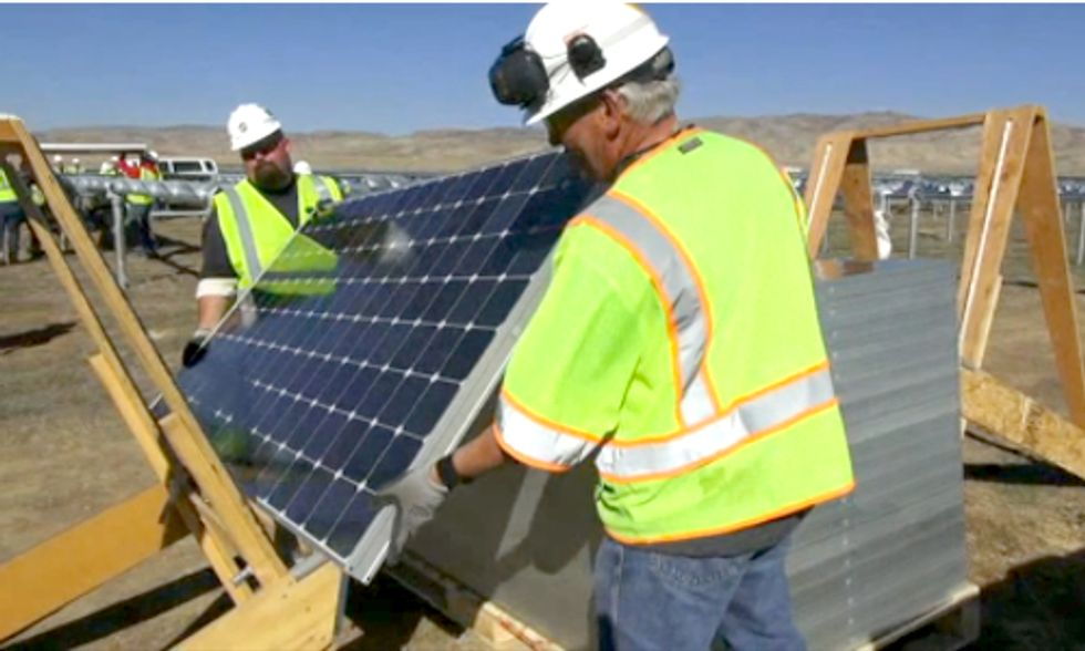 U.S. Solar Employment Rate Growing 10 Times Faster Than National Average