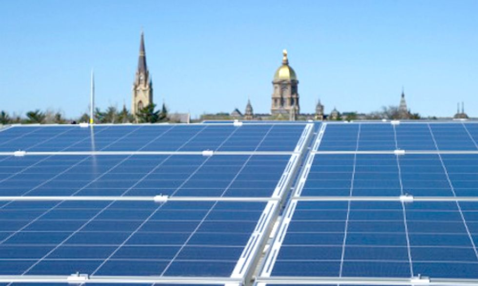 Notre Dame Researchers Explore Technology to Realize Full Potential of Solar Power