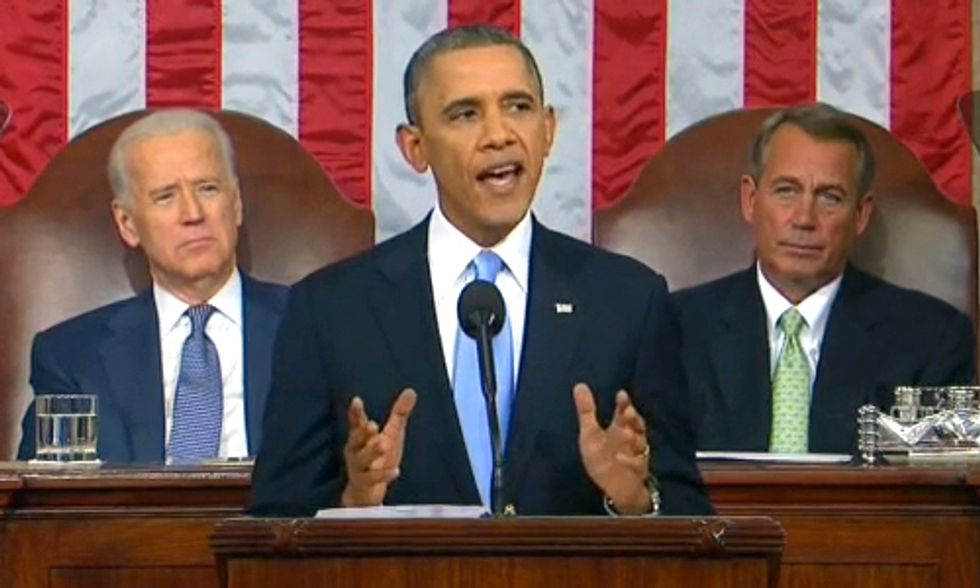 President Obama Acknowledges Climate Change While Fully Supporting Fracking in SOTU