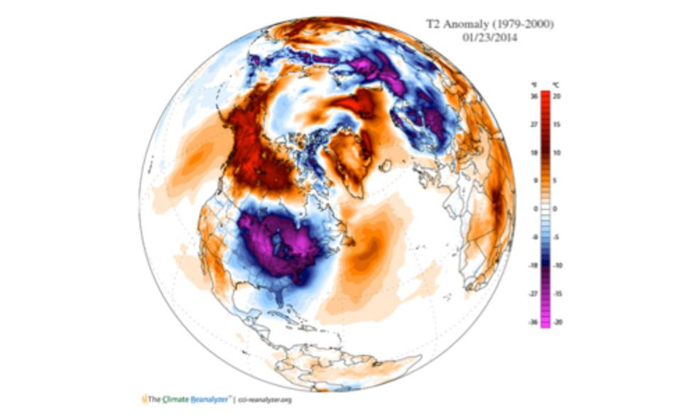 Does Polar Vortex Mean 'So Much for Global Warming'?