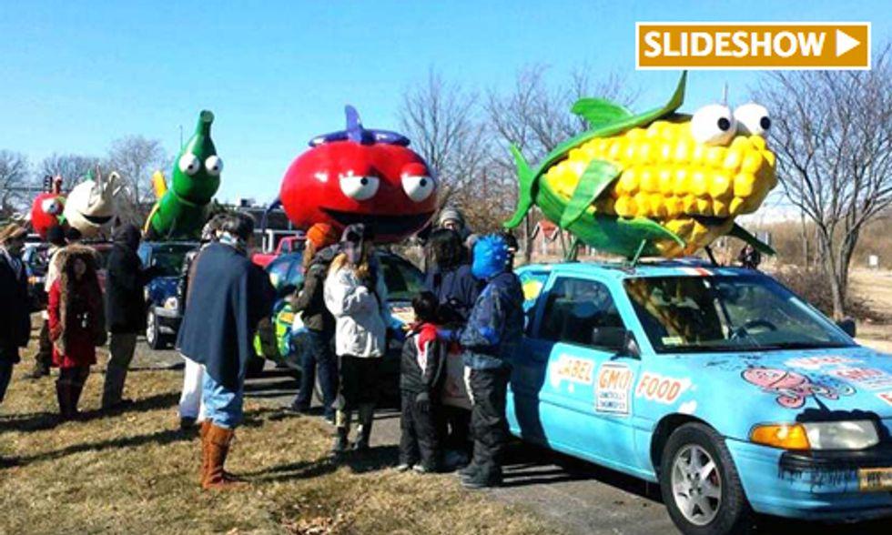 11 Arrested at Monsanto Protest Outside Shareholder Meeting