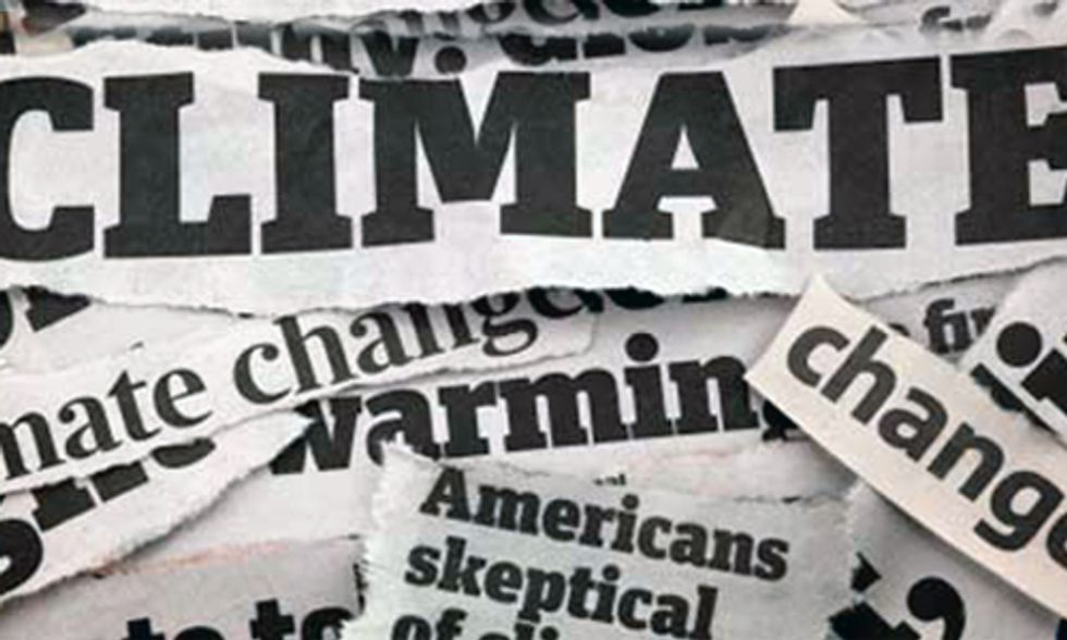 Climate Change is the Anti-News