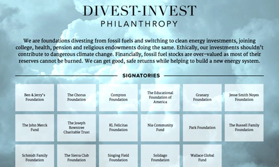 Divestment Goes Mainstream as Major Funds Kick the Fossil Fuel Habit