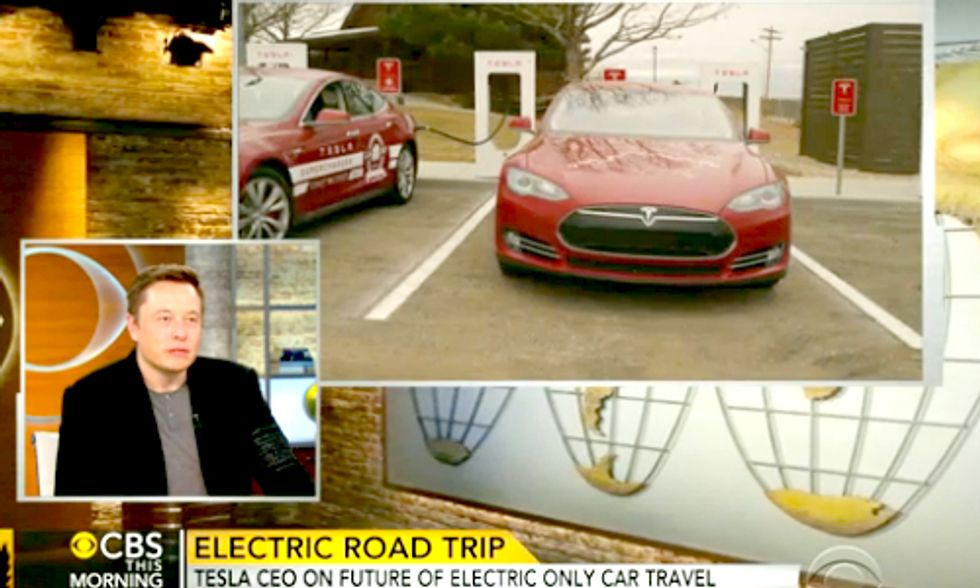 Cross-Country Journey of Two Teslas Sets Milestone for Electric Vehicles